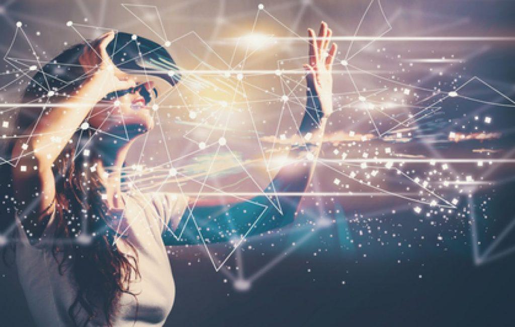 """A realidade virtual transporta para um mundo virtual"""