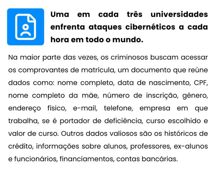 Ciberataques a universidades
